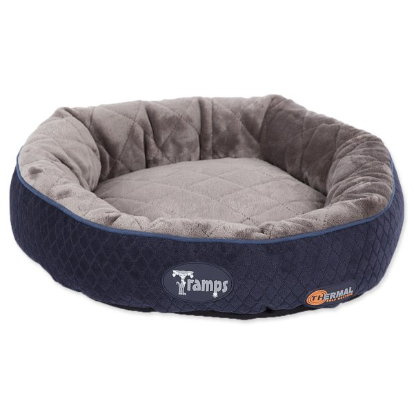 Tramps SCRUFFS Thermal Ring Bed modrý - 50 cm