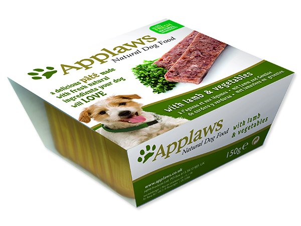 Paštika APPLAWS Dog Pate with Lamb & Vegetables - 150 g