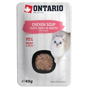 ONTARIO Kitten Soup Chicken, Carrot & Rice - 40g